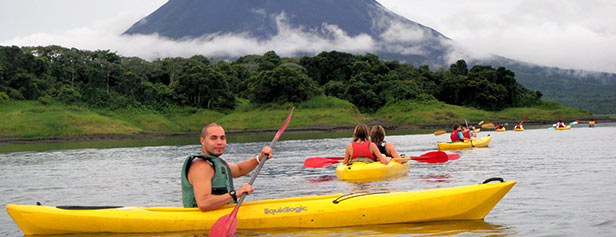 Lake Arenal Kayak Tour