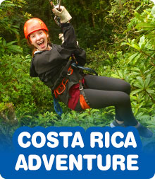 Costa Rica Adventure Rein Summer Teen Tour