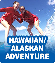 Hawaiian/Alaskan Adventure Rein Summer Teen Tour